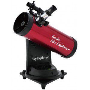 ケンコー(KENKO)スカイエクスプローラー SE-AT100N RD 自動追尾機能付き天体望遠鏡で手軽に天体観察(初心者用/入門用)