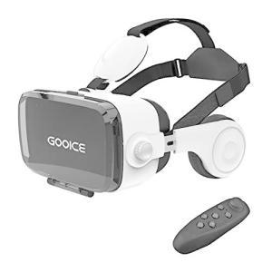 Gooice VRゴーグル 3D VR ヘッドセット 非球面光学レンズ搭載 近視/遠視適用 120視...