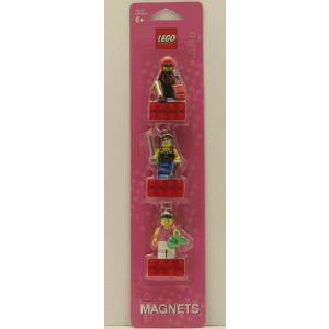 LEGO レゴ マグネット3種セット★ガールズ|nazca