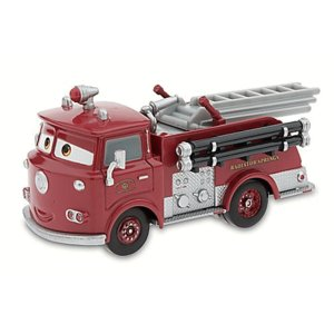 US版  ディズニー カーズ  レッド 消防車 大きさ(約11センチ) Red the Fire E...