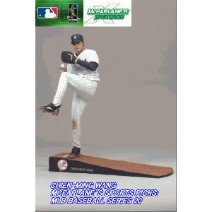 【少々訳あり】マクファーレン アメリカ限定 MLBシリーズ20★王建民(ヤンキース)|nazca