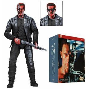 US版NECA ターミネーター2  T-800 ビデオゲーム アクションフィギュア フィギュア高さ:...
