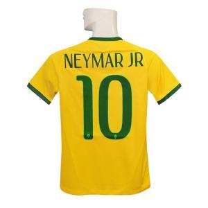 (ナイキ) NIKE/14/15ブラジル代表/ホーム/半袖/ネイマール/ジュニア用/575297-703|nbs