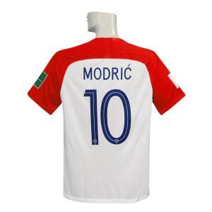 ***限定再入荷*** 18-19年クロアチア代表/ホーム/半袖 モドリッチです。