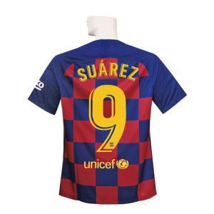 19-20年バルセロナ/ホームの半袖ユニフォーム スアレスです。