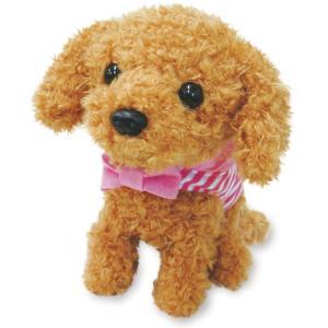 犬 動くおもちゃ 犬のぬいぐるみ よびかけアクション愛犬モカちゃん
