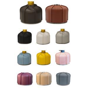 アウトドア キャンプギア OD缶 カバー ガス缶カバー 10カラー 230/250g 450/470...