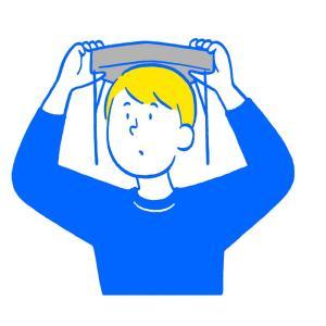 でるキャップ 防災頭巾|nct|07