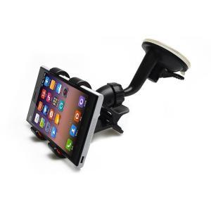 ・吸盤式のスマホ、タブレット、GPSホルダー。ダッシュボードやフロントガラスに強力吸着! 助手席や後...