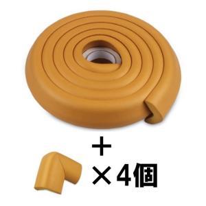 コーナークッション 2m +L型コーナーガード 4個のお徳用セット|ndhci2014