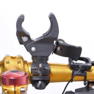自転車用 ライトホルダー クイックレリーズで簡単装着 ポンプの固定にも(01)|ndhci2014