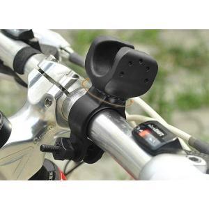 自転車用 ライトホルダー 取り付け簡単 回転機能付き ポイント消費に|ndhci2014