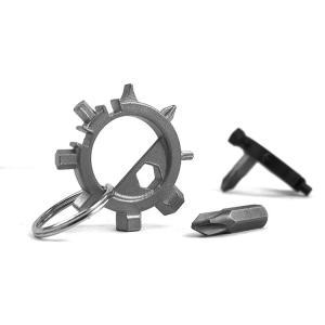 自転車用 携帯型 工具 マルチツール 使いやすいキーホルダー型|ndhci2014