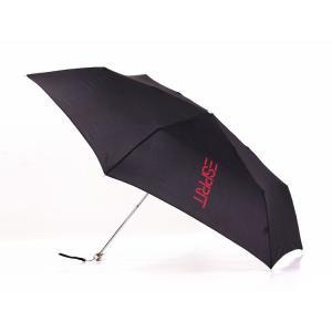 軽くて丈夫な 折りたたみ傘 晴雨兼用 黒色 ちょっと大きめの85cm 160g|ndhci2014