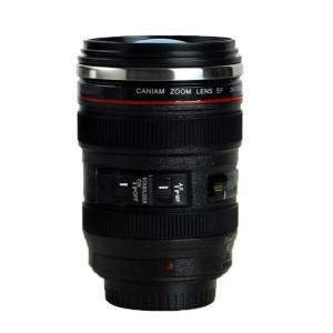 マグカップ キャノン カメラ型 一眼レフ EF24-105 レンズ型 ステンレス製|ndhci2014