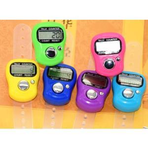 計数器 デジタル カウンター 数取器 小型 指用 5個セット