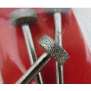 電着ダイヤモンドバー  ダイヤモンドビット 薄柱型 軸径3mm ndhci2014