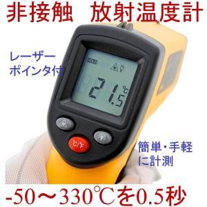 放射温度計 非接触 赤外線 GM320 レーザーポインタ付 0.5秒|ndhci2014