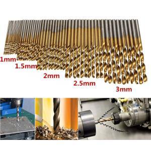 ◆HSS鋼チタンコート  ◆Φ1、1.5、2、2.5、3mm  10本セット ◆軸形状:丸軸 ◆一般...