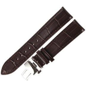 腕時計 交換バンド ベルト 本革 Dバックル 14mm 16mm 18mm 20mm 22mm 24mm 工具付き(茶)|ndhci2014