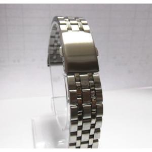腕時計 交換バンド ベルト  両サイドプッシュ式 直カン ステンレス 3連18mm 20mm 22mm 工具付|ndhci2014
