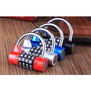 ダイヤルロック ナンバーロック 暗証番号4桁 南京錠 鍵 補助錠 錠前 スーツケース 防犯 盗難防止に|ndhci2014