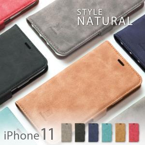 iphone11 ケース 手帳型 アイフォン11 ケース カバー 手帳 おしゃれ ブランド 革 クリア カード STYLENATURAL|ndos