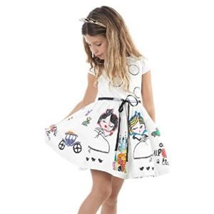 BAO8 子供服 女の子 プリントドレス ワンピース 膝丈スカート 総柄 可愛い 花柄ワンピース 袖...