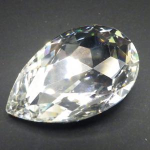 ヴィンテージスワロフスキーArt.4327 Crystalクリスタルゴールドフォイル 30mmx20mm 1個|needlemama