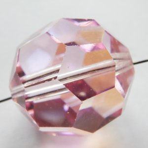 ヴィンテージスワロフスキー Art.5000 LightRoseAB ライトローズAB 20mm 1個|needlemama