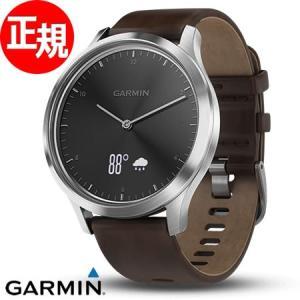 ポイント最大26倍! ガーミン GARMIN ヴィヴォムーブ HR Black Silver ランニングウォッチ 腕時計 010-01850-74|neel