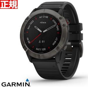ポイント最大26倍! ガーミン GARMIN マルチスポーツGPSウォッチ フェニックス 6X 腕時計 010-02157-43|neel