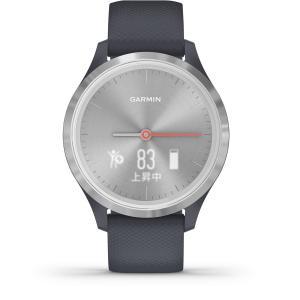 ポイント最大26倍! ガーミン GARMIN vivomove 3S スマートウォッチ 時計 010-02238-70 Granite Blue Silver|neel|02