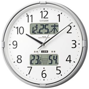 本日ポイント最大17倍!24日 23時59分まで! シチズン 掛け時計 電波時計 4FY618-019 CITIZEN|neel