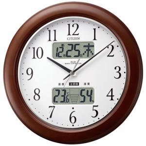 本日ポイント最大17倍!24日 23時59分まで! シチズン 掛け時計 電波時計 4FY619-006 CITIZEN|neel