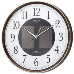 本日ポイント最大17倍!24日 23時59分まで! シチズン CITIZEN 掛け時計 電波時計 ソーラー電波クロック 4MY807-023|neel
