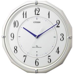 本日ポイント最大17倍!24日 23時59分まで! シチズン 掛け時計 電波時計 4MY822-003 CITIZEN|neel