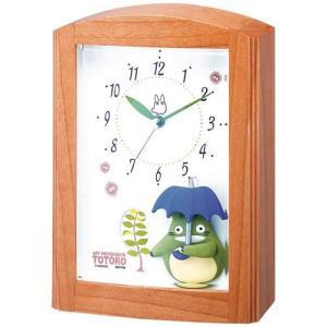 本日ポイント最大17倍!24日 23時59分まで! 目覚まし時計 キャラクター クロック となりのトトロ 4RM752MN06|neel