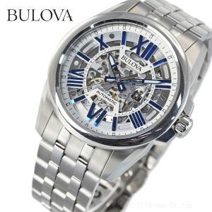 本日限定!ポイント最大21倍! ブローバ BULOVA 腕時計 メンズ 自動巻き クラシック 96A187|neel