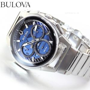 本日限定!ポイント最大21倍! ブローバ BULOVA 腕時計 メンズ カーブ クロノグラフ 96A205|neel