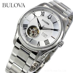 本日限定!ポイント最大21倍! ブローバ BULOVA 腕時計 メンズ 自動巻き クラシック 96A207|neel
