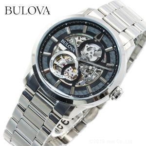 本日限定!ポイント最大21倍! ブローバ BULOVA 腕時計 メンズ 自動巻き クラシック 96A208|neel