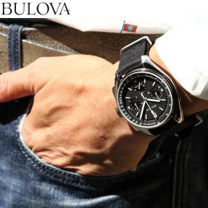 本日限定!ポイント最大21倍! ブローバ BULOVA 腕時計 メンズ アーカイブ ルナ パイロットクロノグラフ 96A225|neel