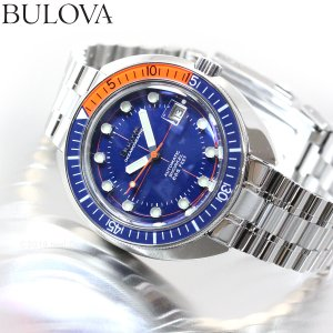 本日限定!ポイント最大21倍! ブローバ デビルダイバー アーカイブ 腕時計 メンズ 自動巻き 98B321 BULOVA|neel