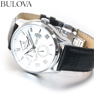 本日限定!ポイント最大21倍! ブローバ BULOVA 腕時計 メンズ 自動巻き クラシック 96C141|neel
