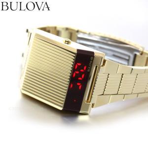 本日限定!ポイント最大21倍! ブローバ BULOVA 腕時計 メンズ LEDデジタルクオーツ アーカイブシリーズ コンピュートロン 97C110|neel