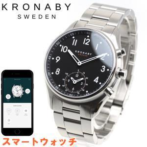 ポイント最大21倍! クロナビー KRONABY スマートウォッチ 腕時計 メンズ A1000-1911|neel