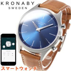 ポイント最大21倍! クロナビー KRONABY スマートウォッチ 腕時計 メンズ A1000-3124|neel