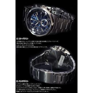 本日ポイント最大31倍!24日23時59分まで! セイコー ワイアード 腕時計 メンズ ブルー クロノグラフ AGAW419 SEIKO|neel|06