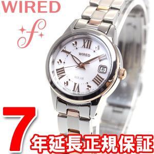 本日ポイント最大21倍! ワイアードエフ WIRED f ソーラー 腕時計 レディース AGED079 セイコー|neel